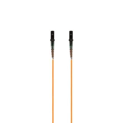 Belkin F2F20299-02M Patch cable - MT-RJ multi-mode (M) to MT-RJ multi-mode (M) - 6.6 ft - fiber optic - 62.5 / 125 micron - orange