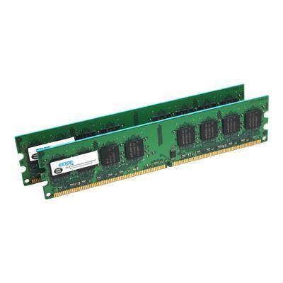 Edge Memory PE20793902 4GB (2X2GB) PC25300 ECC Registered DIMM 240-pin DDR2 Memory Kit