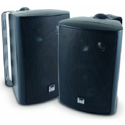 Dual Electronics LU43PB LU43P 4 LU Series Speakers - Black