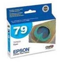 Epson 79 High-Capacity Cyan Ink Cartridge for Stylus Photo 1400