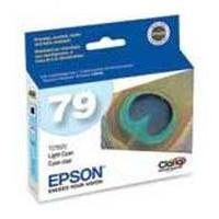 Epson 79 High-Capacity Light Cyan Ink Cartridge for Stylus Photo 1400