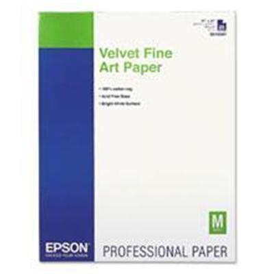 Epson S042097 Fine Art Velvet - Fine art paper - velvet - ANSI C (17 in x 22 in) 25 sheet(s) - for Stylus Pro 3800  Pro 3800 Professional Edition  Pro 3880