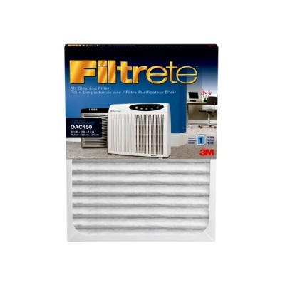 3M OAC150RF Office Air Cleaner Replacement Filter  11 in x 14.5 in x 1.125 in