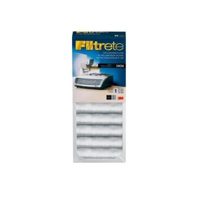 3m Oac50rf Office Air Cleaner With Filtrete Air Cleaning Filter  Oac50 With Oac50rf - Black And Gray  White