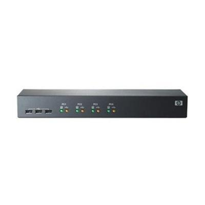 HP AF611A Server Console Switch 1x4 - KVM switch - 4 ports - rack-mountable