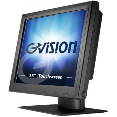 GVISION USA P15BX-AB-459G 15 TFT LCD Monitor POS Application