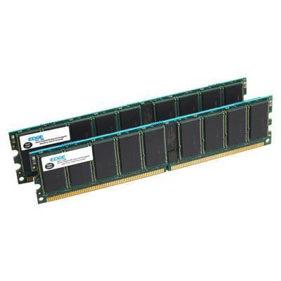 Edge Memory PE20989602 8GB PC2-5300 ECC 240-pin Fully Buffered Kit DR X4