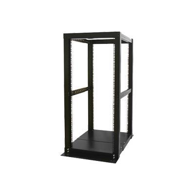 StarTech.com 4POSTRACK25 25U 4 Post Server Open Frame Rack Cabinet