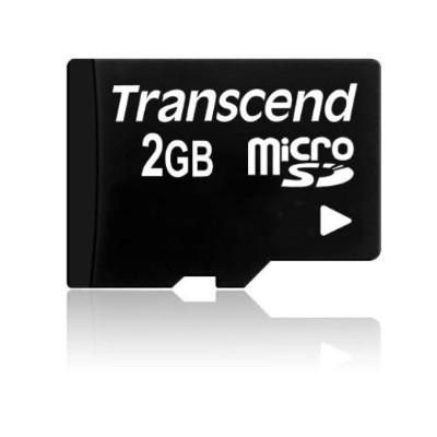 Transcend TS2GUSD 2GB microSD Card - Transflash