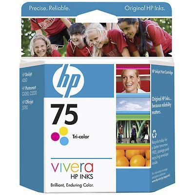 75 Tri-color Inkjet Print Cartridge - Works with D4360  C4480  C4580 And C5580
