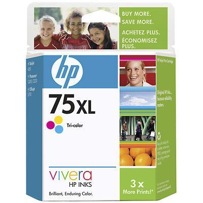 75XL Tri-color Inkjet Print Cartridge - Works with D4360  C4480  C4580 & C5580