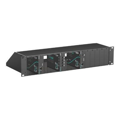 Black Box ACU5000A Rack mounting chassis - 2U - for ServSwitch Wizard SRX DVI-D Plus USB Extender  Wizard SRX DVI-D/USB Extender  Single-Head