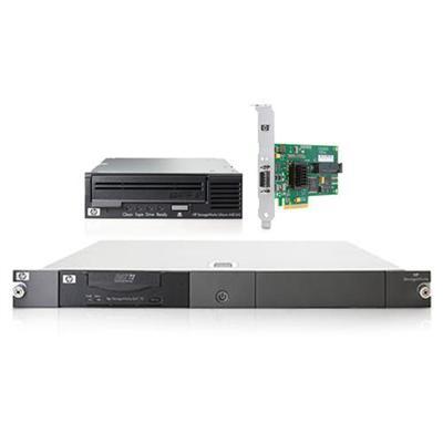 Ultrium 448 SAS Internal Tape Drive bundled with HP SC44Ge Host Bus Adapter and HP StorageWorks 1U SAS Rack Mount Kit
