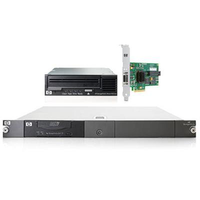 Smart Buy StorageWorks Ultrium 920 SAS Internal Tape Drive bundled with HP SC44Ge Host Bus Adapter and HP StorageWorks 1U SAS Rack Mount Kit
