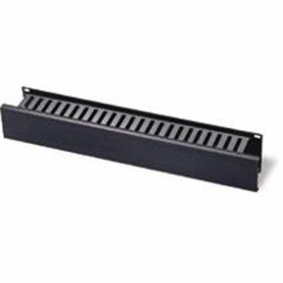 Cables To Go 03746 Horizontal Cable Management Panel 2U 3.5in - Cable management panel - black - 2U - 19