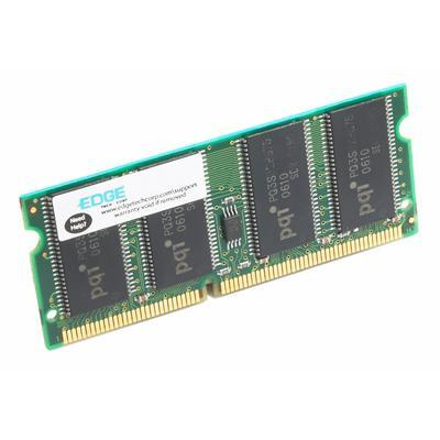 Edge Memory PE211554 256MB PC2-3200 400MHz 144-pin Non-ECC Unbuffered DDR2 SDRAM SoDIMM