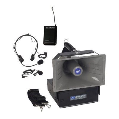 AmpliVox Sound Systems SW610A Wireless Half-Mile Hailer