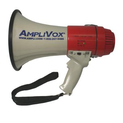 AmpliVox Sound Systems S601R Mity-Meg 15 Watt Dynamic Megaphone