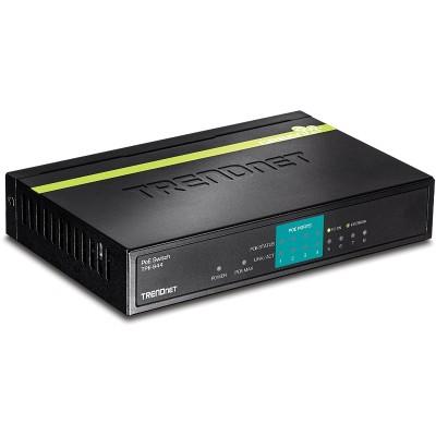 TRENDnet TPE-S44 8-Port 10/ 100Mbps PoE Fast Ethernet Switch