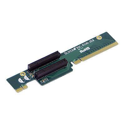 Super Micro RSC-R1UU-2E8 Supermicro RSC R1UU-2E8 - Riser card - for Supermicro H8DMU+  H8SMU  A+ Server AS1011  SuperServer 5015  6015