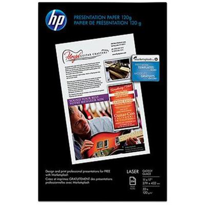 HP Inc. Q2547A Glossy Presentation Paper - 11 x 17 in (250 sheets)