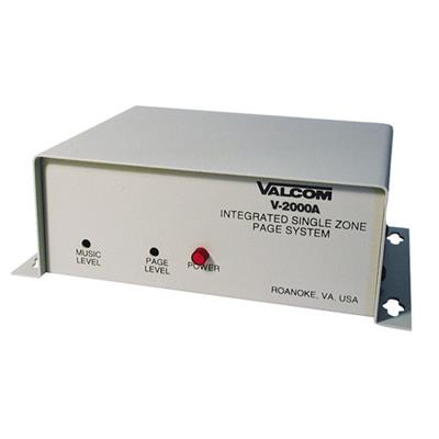 Valcom V 2000A 1 Zone One Way Page Control with Built in Power