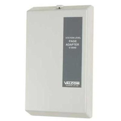 Valcom V-9940 Expandable Station Page Adapter