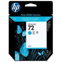 HP 72 69-ml Cyan Ink Cartridge with Vivera Inks