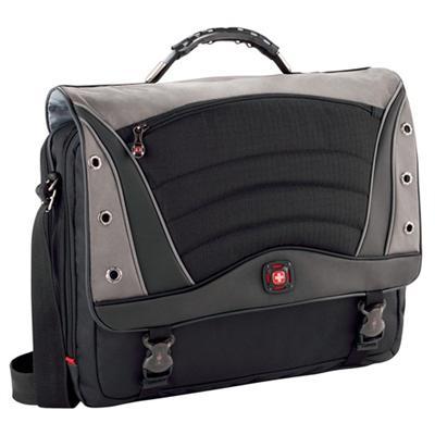 Victorinox Swiss Army GA-7488-14F00 SATURN 17 Laptop Messenger Bag - Black