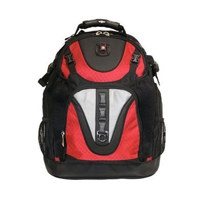 Victorinox Swiss Army GA-7303-13F00 MAXXUM 15.4 / 39 cm Computer Backpack - Black/Red