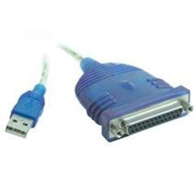 Cables To Go 16899 6ft USB to DB25 IEEE-1284 Parallel Printer Adapter Cable
