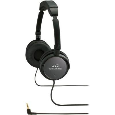 JVC HA-NC80 Noise-Cancelling Headphones - Black