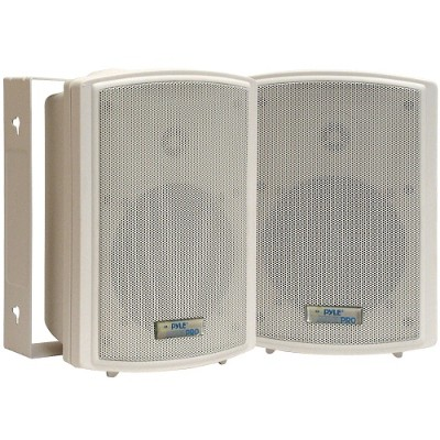 Pyle PDWR53 5.25'' Indoor/Outdoor Waterproof Wall Mount Speakers - Pair