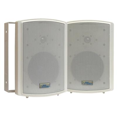 6.5'' Indoor/Outdoor Waterproof On Wall Speakers - White