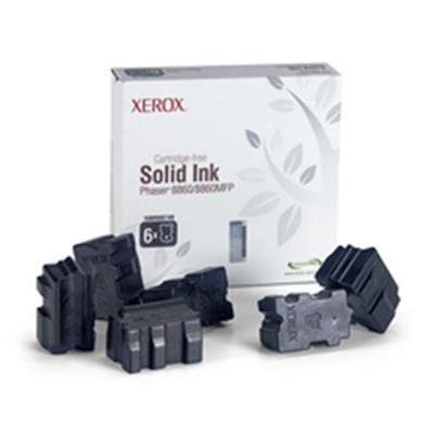Xerox 108R00749 Black Solid Ink for Phaser 8860/8860MFP - 6 Sticks
