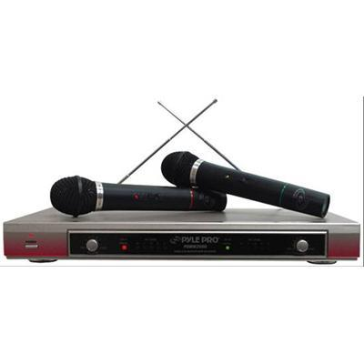 Pyle PDWM2000 DUAL VHF WIRELESS MICROPHONE SYSTEM