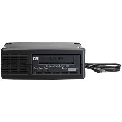 StorageWorks DAT 160 USB External Tape Drive - Tape drive - DAT ( 80 GB / 160 GB ) - DAT-160 - Hi-Speed USB - external