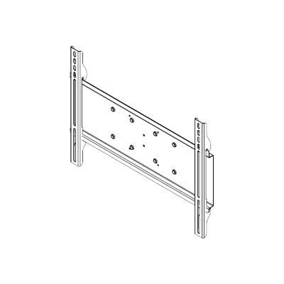 Peerless PLP-UNM Universal I-Shaped Adaptor PLP-UNM - Mounting component (mounting adapter) for LCD / plasma panel - cold-rolled steel - black - screen size: 22