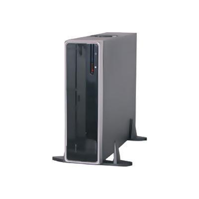 APEX DM-318 DM-318 - Desktop slimline - micro ATX 220 Watt ( ATX12V ) - USB/FireWire/Audio
