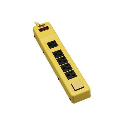 TrippLite TLM626NS Safety Power Strip 120V 5-15R 6 Outlet Metal 6' Cord OSHA - Power strip - 15 A - AC 120 V - input: NEMA 5-15 - output connectors: 6 (NEMA 5-1
