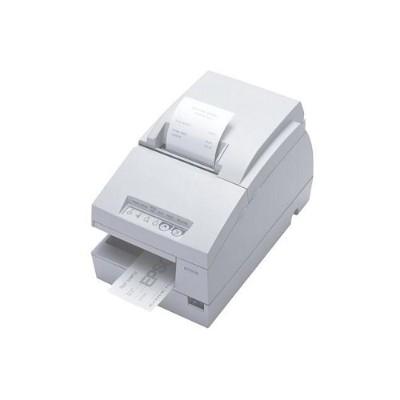 Epson C31C283A8941 TM-U675 USB Compact Multifunction POS Printer - Cool White