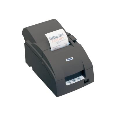 Epson C31C513A8911 TM U220A Monochrome Dot-Matrix Receipt Printer - USB - Dark Gray