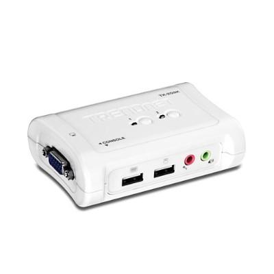 TRENDnet TK-209K 2-Port USB KVM Switch Kit with Audio