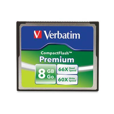 Verbatim 96196 8GB Premium Compactflash Card
