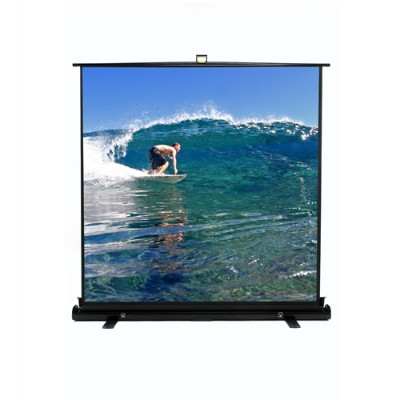 Elite Screens F60XWV1 60 ezCinema Plus Floor Stand Scissor Pull Up Projector Screen