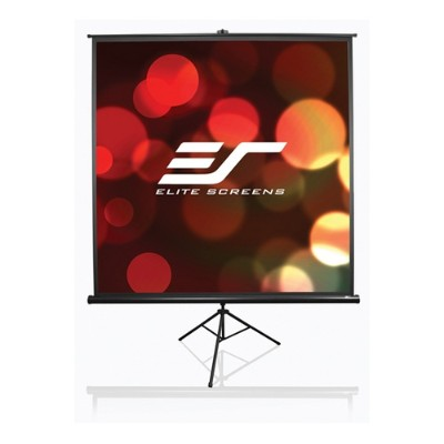 Elite Screens T71UWS1 71 Tripod Projector Screen 50 x 50