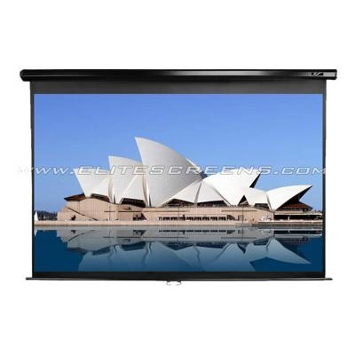 Elite Screens M99UWS1 99 Manual Pull-down Projector Screen