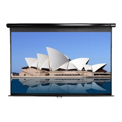 Elite Screens M85UWS1 85 Manual Pull-down Projector Screen