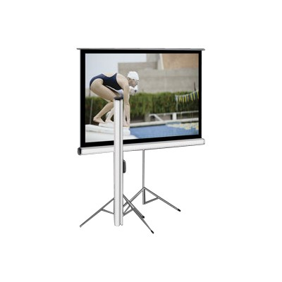 Elite Screens T113UWS1 113 Tripod Projector Screen 80 x 80