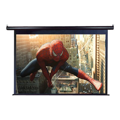 Elite Screens ELECTRIC125H 125 Spectrum MaxWhite Projector Screen - Black